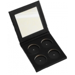 Mineral Eye Shadow Pressed Compact (Palette Only with Mirror Holds 4 Shadows Not Included)
